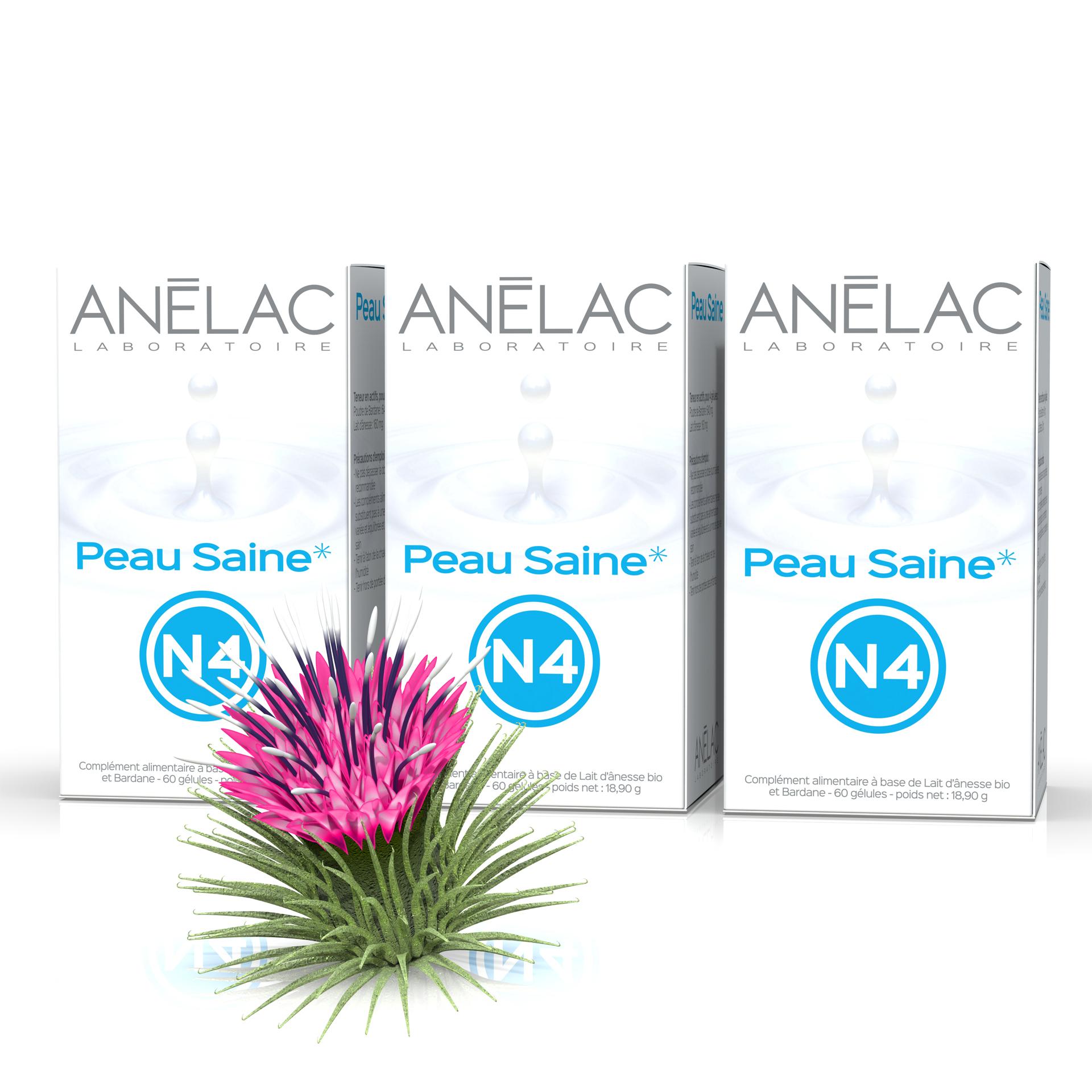 Pack Peau Saine N4 x 3 - BIO